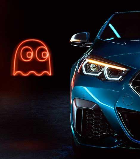 BMW lancia la Serie 2 con Pac-Man