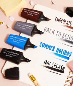 Sephora x Stabilo brings beauty the school nostalgia