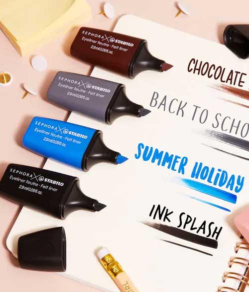 Sephora x Stabilo: nostalgia dei giorni di scuola