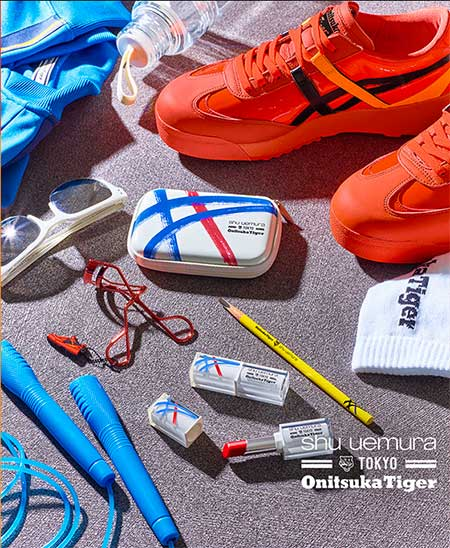 Sneaker e cosmetica: Shu Uemura con Onistuka Tiger