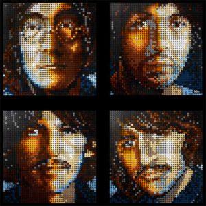 Lego Art: contemporary pop à la Warhol