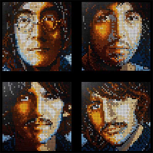 Lego Art: pop contemporaneo alla Warhol