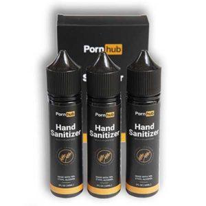 Pornhub lancia l'igienizzante mani