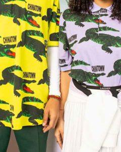 Chinatown Market risveglia il coccodrillo Lacoste