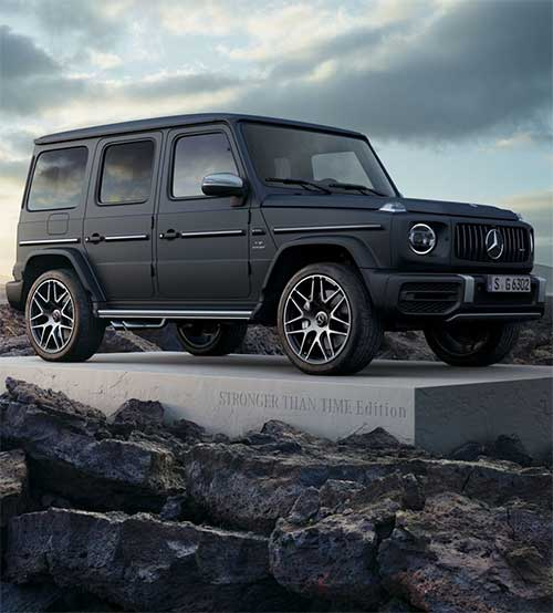 Mercedes Benz lancia la special edition Virgil Abloh