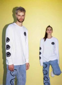 Bershka x Smiley, featuring Sofi Tukker