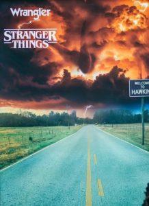 Wrangler celebrates the 4th season of Stranger Things