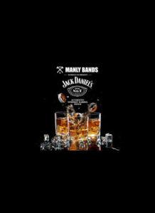 Manly Bands e Jack Daniels, anelli in legno per matrimoni forti