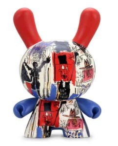 Jean-Michel Basquiat con Kidrobot