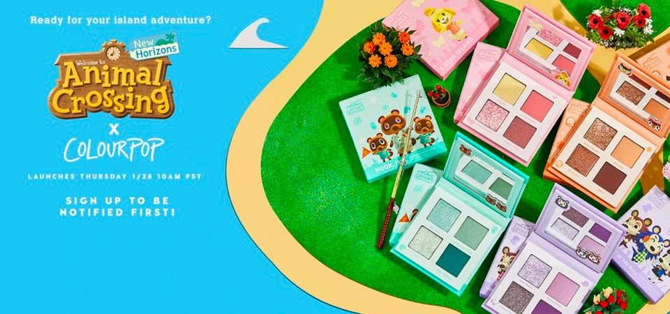 Colourpop x Animal Crossing: un make-up animato