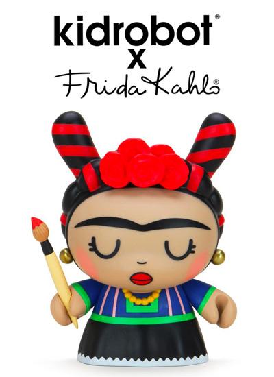 Kidrobot celebra l'icona pop femmine Frida Kahlo