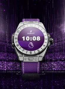 Hublot Big Bang lancia uno smartwatch Premier League