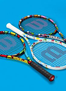 Britto x Wilson a collabs of art, tennis and humanity