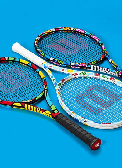 Britto x Wilson: arte, tennis ed umanità