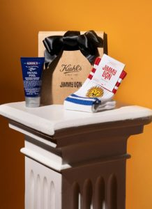 Jimmy Lion with Kiehl's,  Father's Day co-branding
