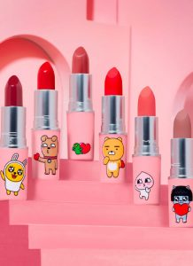 Kakao Friends x MAC Cosmetics: a fun make up