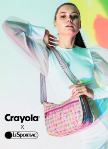 Crayola x LeSportsac: the colours of spring