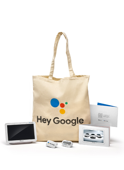 "Fiat e Google presentano ""500 Hey Google"""