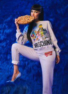 La nostalgia pop di Moschino con Sesame Street