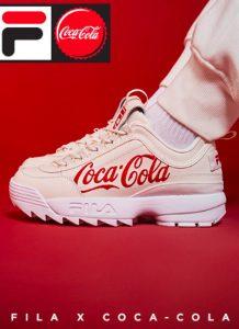 Fila e Coca Cola diffondono un messaggio di amore