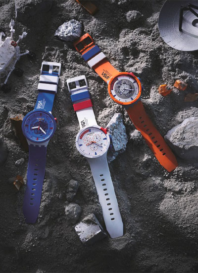 Swatch presenta la NASA Space Collection