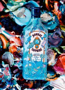 Bombay Sapphire, Limited Edition Bottle con Steven Harrington