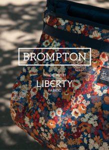 Brompton lancia una collezione di borse Liberty