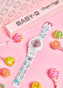 Maya Hansen disegna Casio Baby-G x Chupa Chups