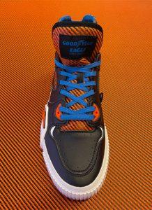 Goodyear e ABTechLab presentano le loro sneakers in fibra di carbonio