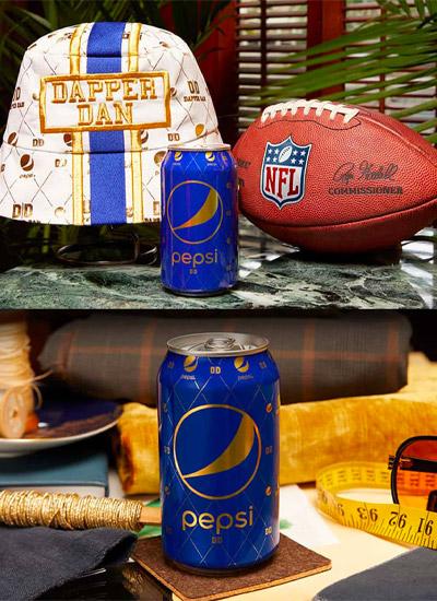 Pepsi e Dapper Dan: football Americano e moda di lusso