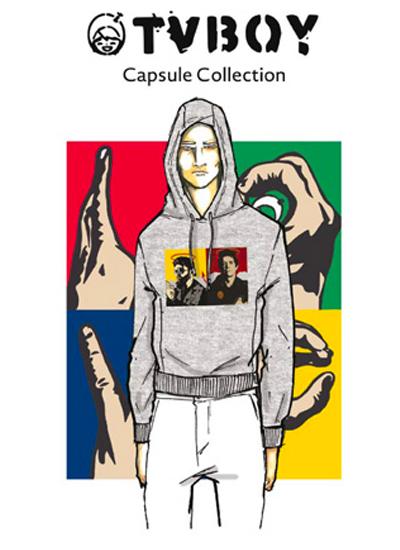 Antony Morato lancia una capsule pop art con TVBoy