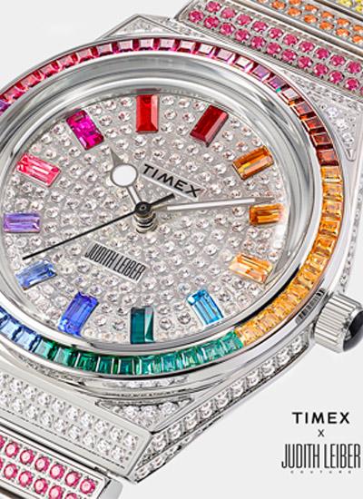 Timex e Judith Leiber, limited edition e accordo di licenza